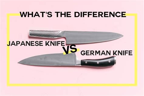 knives japanese german cooking