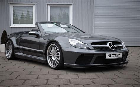 Mercedes Sl Prior Design Aerodynamics