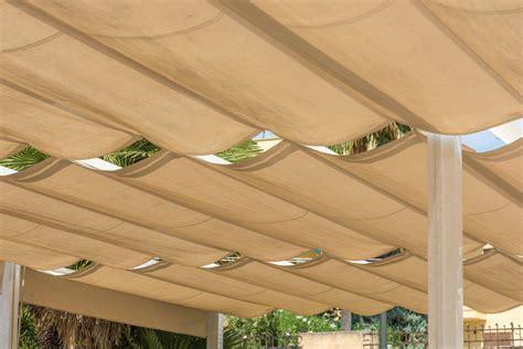 build diy retractable pergola canopy