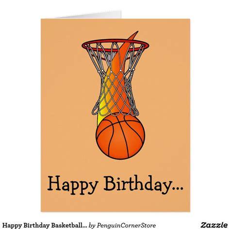 happy birthday basketball ideas  pinterest