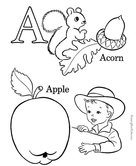 educational coloring pages  kids printable coloring home