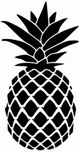 Pineapple Stencil for Doormat - Lydi Out Loud