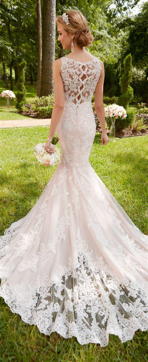 wedding dresses  stella york spring  bridal collection belle  magazine