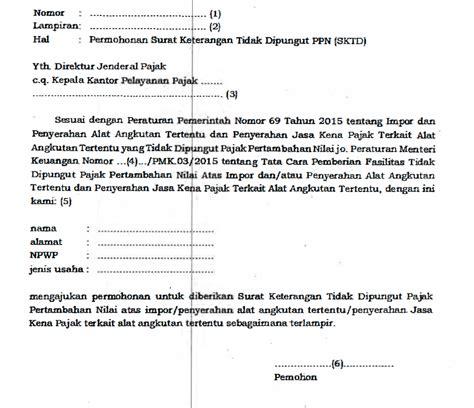 contoh surat pernyataan faktur pajak gawe cv