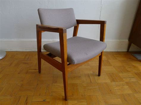 w h gunlocke chair company vintage mid century w h gunlocke co side chair by