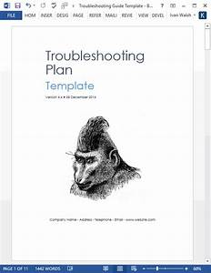 Troubleshooting Guide Template  Ms Word   U2013 Templates