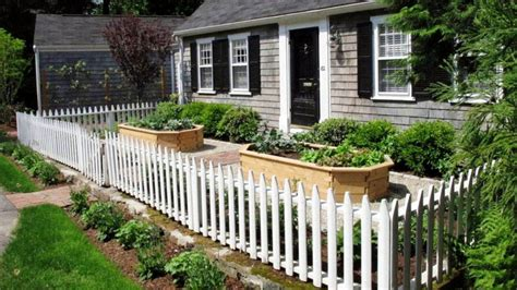 kitchen gardens design picket fence designs pictures of popular types 1762