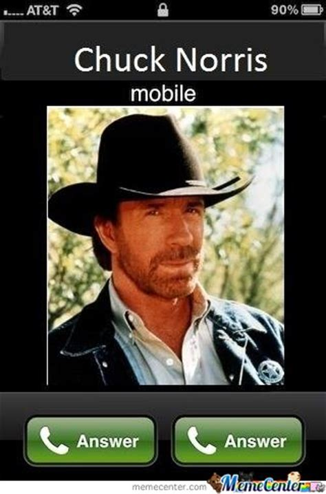 Phone Call Meme - chuck norris phone call by jalal meme center