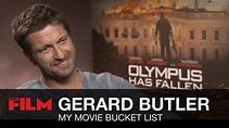 Gerard Butler: Movie Bucket List - YouTube
