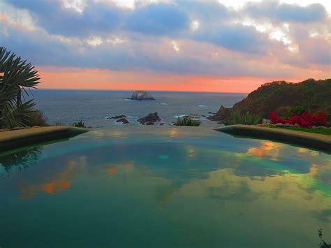 heven zipolite  bed  breakfast   view