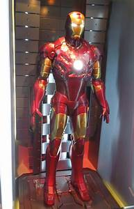 Hollywood Movie Costumes and Props: Battle damaged Iron ...