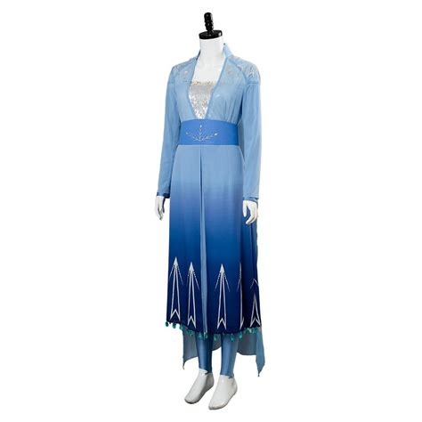 la reine des neiges  frozen  elsa robe cosplay costume