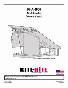 Serco Dock Leveler Parts Diagram