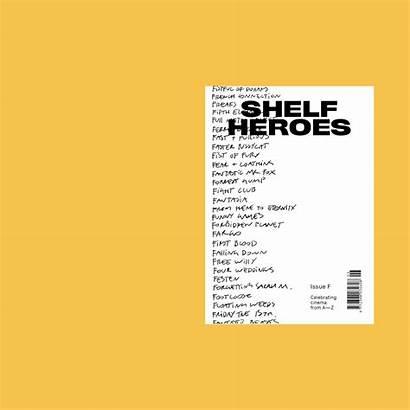 Behance Heroes Shelf Magazine