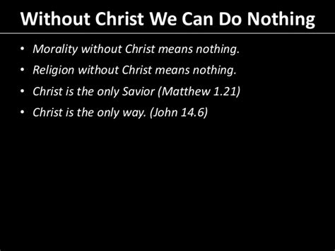 Preaching On Nothing
