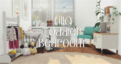 pyszny designs lilla toddler bedroom sweet sims  finds