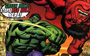 green hulk vs red hulk   ImgDerp