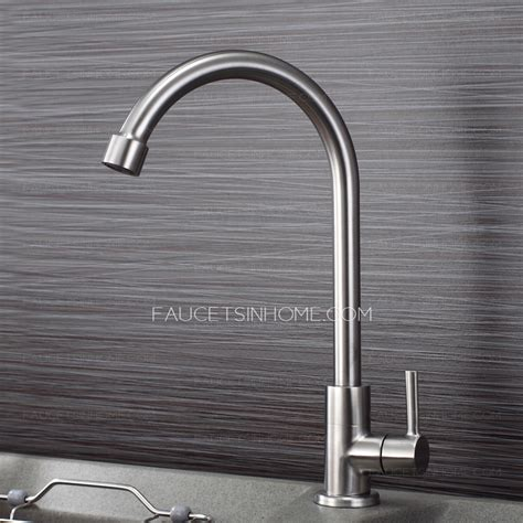 best kitchen sinks and faucets best healthy stainless steel cold water kitchen sink faucet 7725