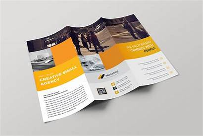 Brochure Fold Tri Professional Template Riga Brochures