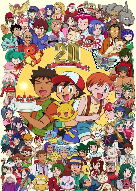 155 best ash and his friends images on