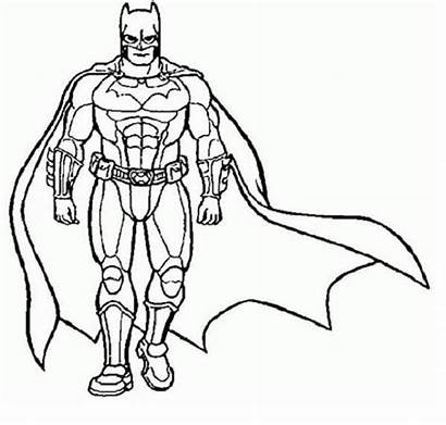 Coloring Superhero Pages Superheroes Super Printable Colouring