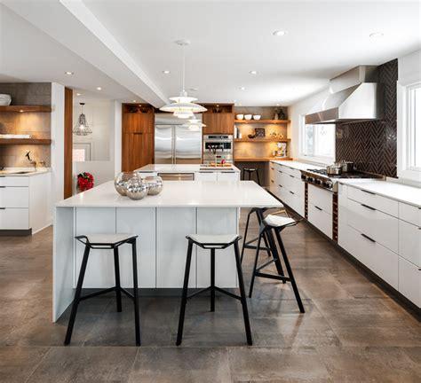 modern white kitchen  astro design ottawa