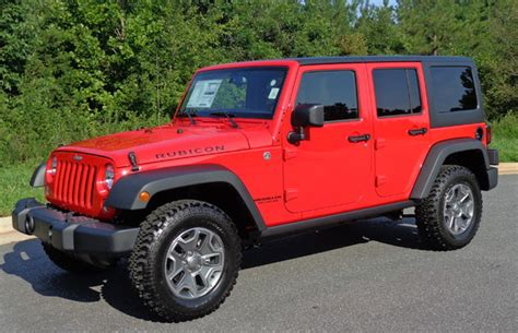 red jeeps firecracker red 2015 chrysler jeep wrangler unlimited rubicon