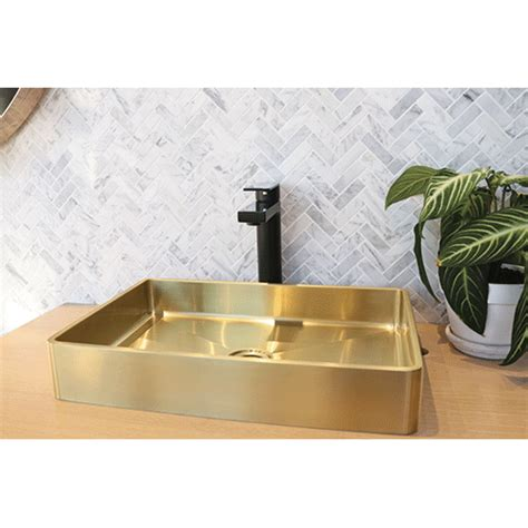 kitchen sink tapware brushed burnished brass tapware mixers showers sinks australia 2935