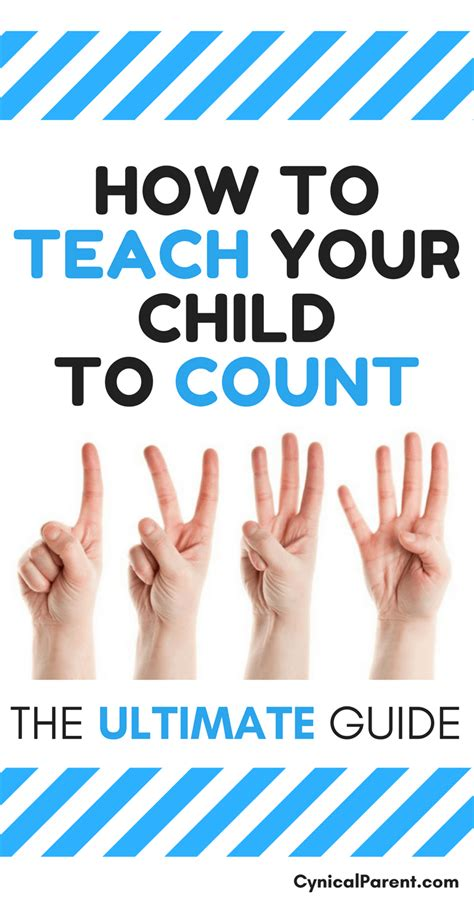 How To Teach A Child To Count The Ultimate Guide
