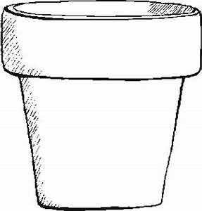 Garden - Flower-Pot - Coloring Pages