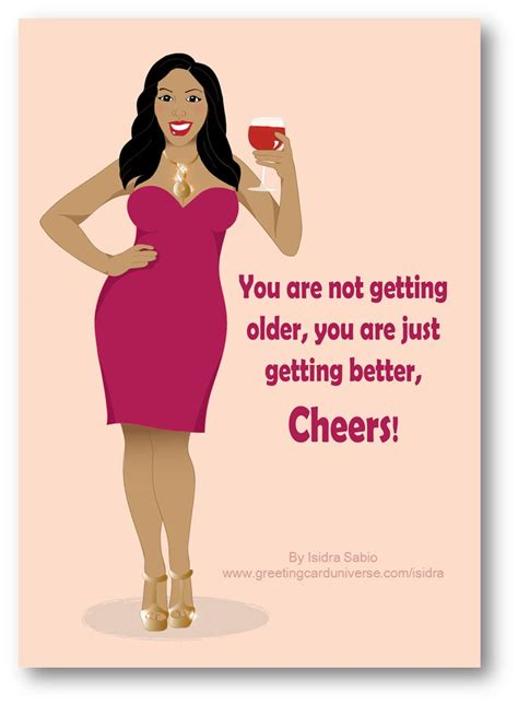 hot dress quotes birthday sexy african american woman wine glass pink