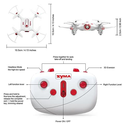 cheerwing syma  pocket drone ghz remote control mini rc quadcopter  altitude hold