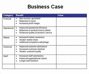 sample business case 6 documents in pdf word With writing business cases template