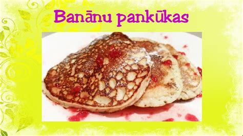 Banānu pankūkas. 13.sērija - YouTube