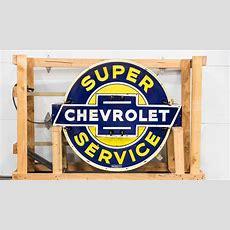 Chevrolet Dealership Super Service Neon Sign Dspn 49x41