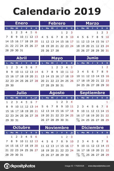 calendario julio editar espanol calendario vector de