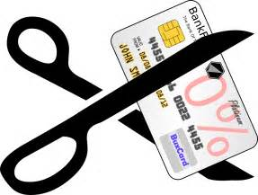 Cut Credit Card Clip Art
