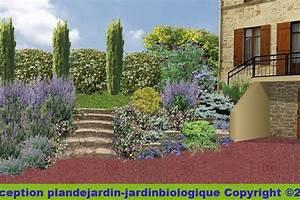 amenagement descente de sous sol jardin descente de garage With awesome amenager son jardin en pente 10 creer un jardin en permaculture plan