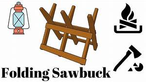 Folding Sawbuck Plans