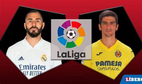 Real Madrid y Villarreal empataron 1-1 por la fecha 10 de ...