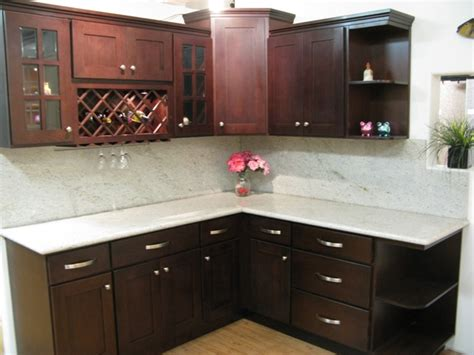shaker beech kitchen cabinets espresso beech shaker kitchen cabinets photo album 5153