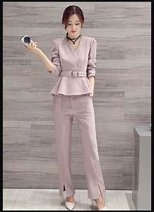 pant suits for new 2017 womens business