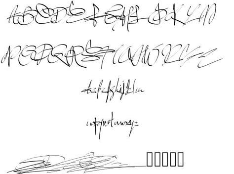 11 Best Signature Font Images  Free Cursive Signature Font, Script Signature Handwriting Font