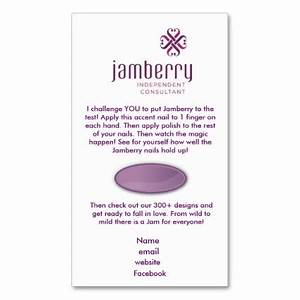 Nails fashionista jamberry sample card business card for Jamberry business cards template