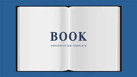 book powerpoint template   theme