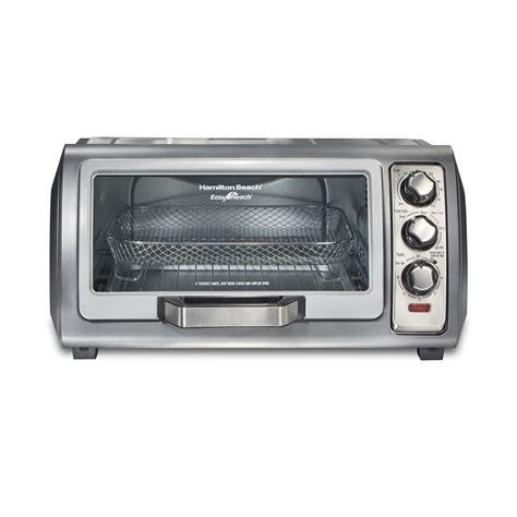 toaster oven air fryer hamilton beach crisp sure walmart fry ovens bake