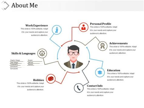 About Me Template About Me Presentation Templates Pictures To Pin On