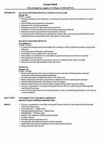 awesome optician assistant resume sample images example With optician resume template