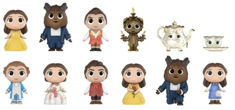 funko beauty beast mystery minis checklist exclusives list set