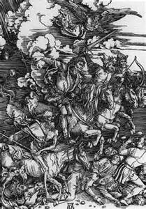 Image result for durer four horsemen of the apocalypse